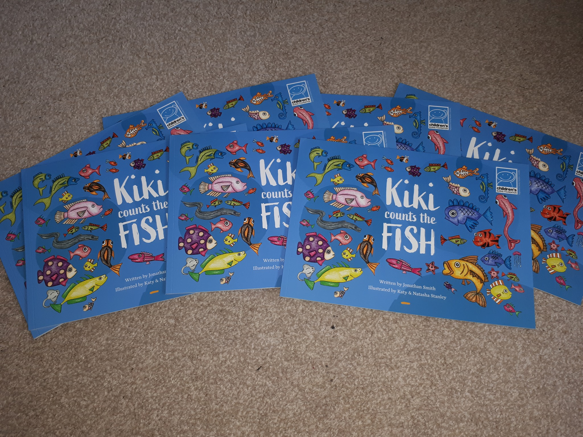 Kiki Counts the Fish is in print!